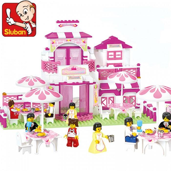 Конструкторы Sluban BOX Розовая мечта M38-B0150R (306 элементов) конструкторы sluban джип полиции m38 b700 45 элементов