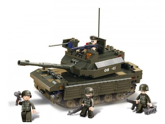 Конструкторы Sluban Танк армии M38-B6500R (312 элементов) конструкторы sluban box военный спецназ m38 b0206r 273 элемента