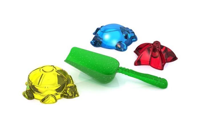Игрушки для зимы Нордпласт Набор для песка №123 Прозрачный формочки для песка стеллар