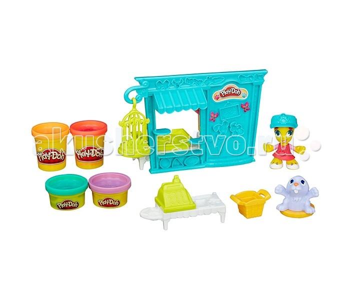 Всё для лепки Play-Doh Игровой набор Город Магазинчик домашних питомцев hasbro play doh b3418 игровой набор магазинчик домашних питомцев