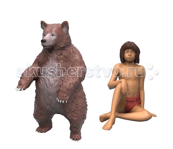 Игровые фигурки Disney Книга джунглей 2 фигурки в блистере Балу и Маугли фигурки игрушки prostotoys каа маугли