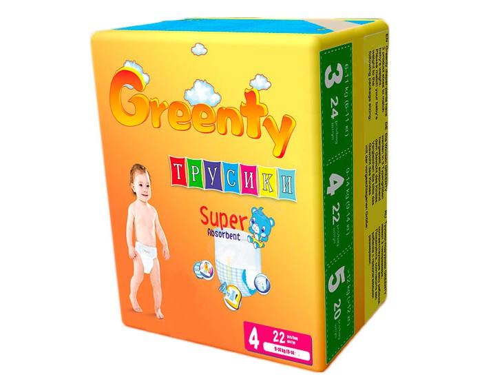 Подгузники Greenty Подгузники-трусики (9-14 кг) 22 шт.