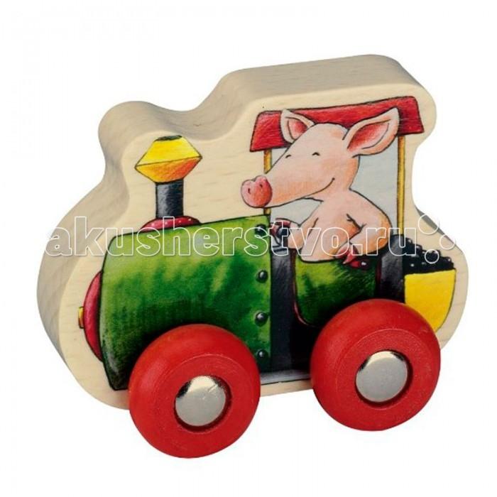 Деревянные игрушки Spiegelburg автомобиль Bella Die Lieben Sieben музыкальные игрушки spiegelburg деревянный свисток 86600