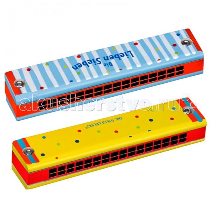 Музыкальные игрушки Spiegelburg Губная гармошка Die Lieben Sieben музыкальные игрушки spiegelburg деревянный свисток 86600