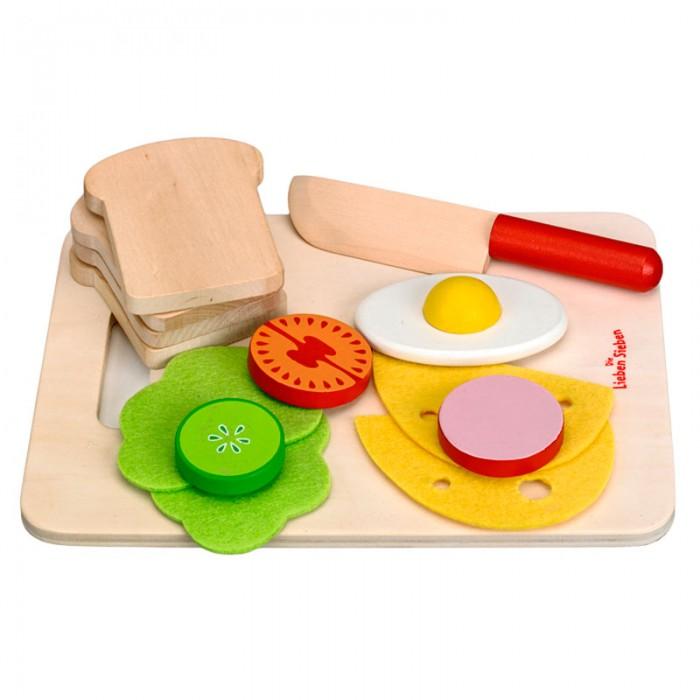 Купить Игровые наборы, Spiegelburg Игровой набор для завтрака Die Lieben Sieben