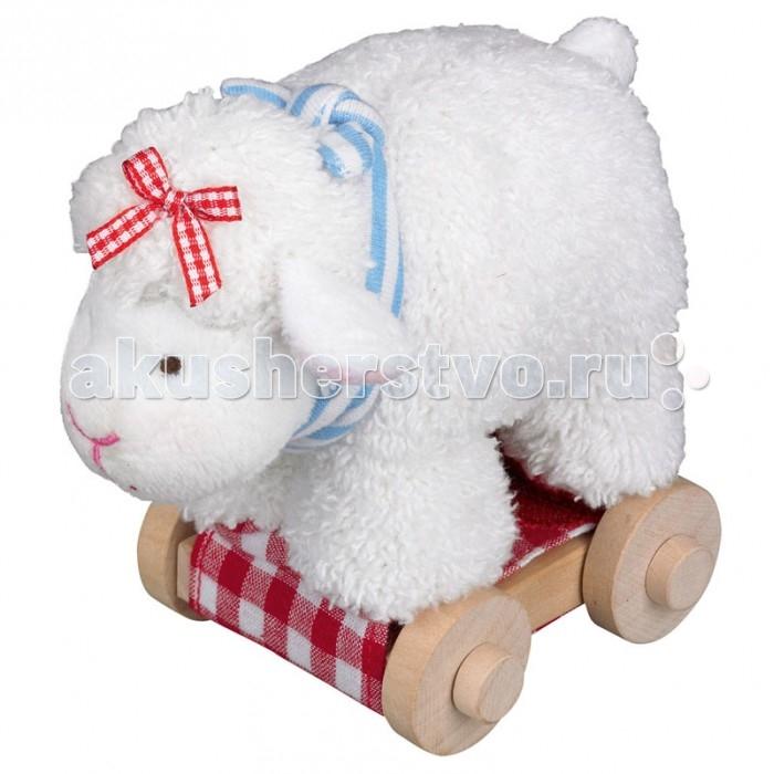 Каталки-игрушки Spiegelburg Овечка Baby Gluck мягкие игрушки spiegelburg мишка неваляшка baby gluck
