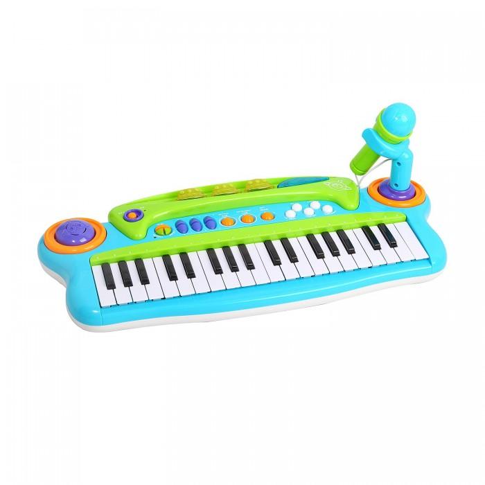 Музыкальные игрушки Potex Синтезатор Music Spaceship 37 клавиш 890B