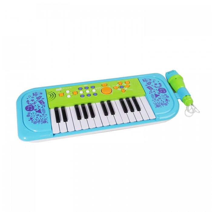 Музыкальная игрушка Potex Синтезатор Sing-Along Piano 25 клавиш 539A-blueСинтезатор Sing-Along Piano 25 клавиш 539A-blueМузыкальная игрушка Potex Синтезатор Sing-Along Piano 25 клавиш 539A-blue. Для развития музыкального таланта и проявления творческих способностей, предлагаем вашему вниманию детский синтезатор, который имеет дополнительные мелодии и инструментальные звуки.   Компактный синтезатор не займет дома много места, поэтому его очень удобно использовать в качестве домашнего музыкального инструмента. Яркий синтезатор оснащен функцией записи и воспроизведения, а так же очень прост в использовании, в следствие чего Вашему ребенку не составит труда приобщиться к миру музыки, при этом обогатив внутренний мир.<br>