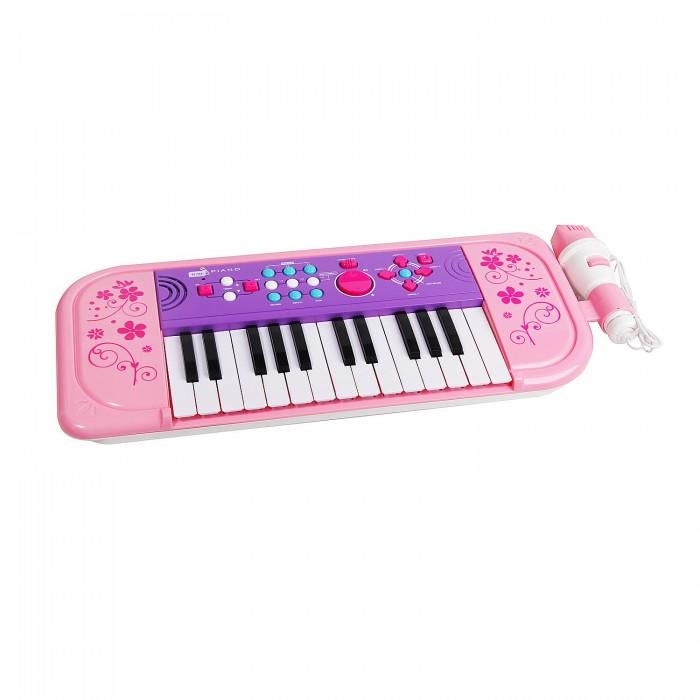 Музыкальная игрушка Potex Синтезатор Starz Sing-Along Piano 25 клавиш 539B-pinkСинтезатор Starz Sing-Along Piano 25 клавиш 539B-pinkМузыкальная игрушка Potex Синтезатор Starz Sing-Along Piano 25 клавиш 539B-pink. Для развития музыкального таланта и проявления творческих способностей, предлагаем вашему вниманию детский синтезатор, который имеет дополнительные мелодии и инструментальные звуки.   Компактный синтезатор не займет дома много места, поэтому его очень удобно использовать в качестве домашнего музыкального инструмента. Яркий синтезатор оснащен функцией записи и воспроизведения, а так же очень прост в использовании, в следствие чего Вашему ребенку не составит труда приобщиться к миру музыки, при этом обогатив внутренний мир.<br>