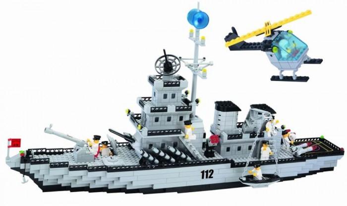 Конструктор Enlighten Brick Крейсер 112 (970 элементов)