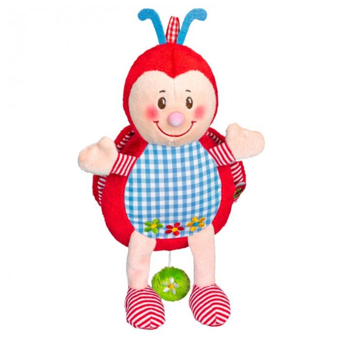 Мягкая игрушка Spiegelburg Музыкальная божья коровка Baby GluckМузыкальная божья коровка Baby GluckSpiegelburg Музыкальная божья коровка Baby Gluck.  Музыкальная игрушка Baby Gluck в виде божьей коровки. Легко вешается к коляске с помощью специальной клипсы. Поможет развеселить и отвлечь Вашего малыша и он перестанет капризничать.<br>