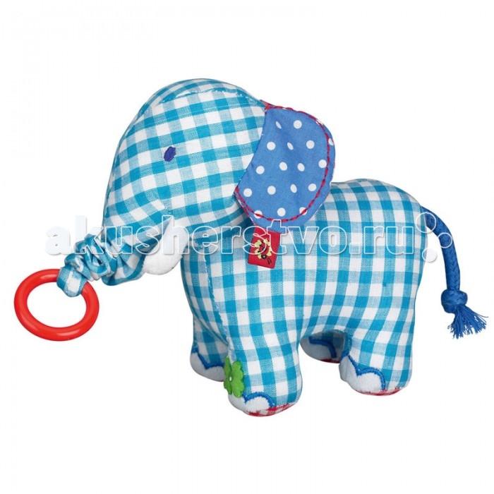 Мягкие игрушки Spiegelburg Слон Baby Gluck мягкие игрушки spiegelburg мишка неваляшка baby gluck