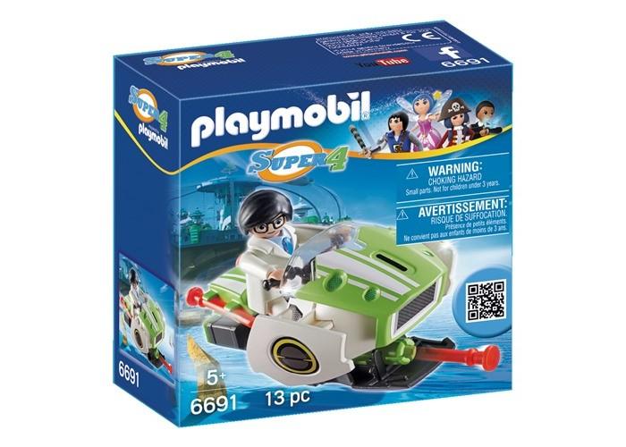 Конструкторы Playmobil Супер4: Скайджет конструкторы fanclastic конструктор fanclastic набор роботоводство