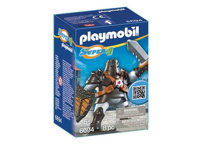 Конструкторы Playmobil Супер4: Черный Колосс playmobil® возьми с собой пляжное бунгало playmobil