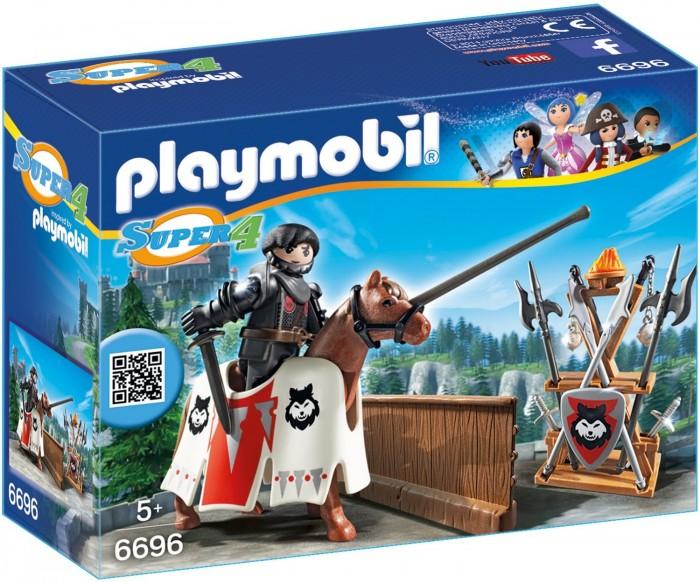 Конструкторы Playmobil Супер4: Рыцарь Райпан Стражник Черного Барона playmobil® playmobil 5110 конный клуб трекерная лошадь со стойлом