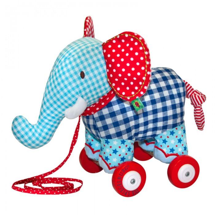 Каталки-игрушки Spiegelburg Слоненок Baby Gluck мягкие игрушки spiegelburg гриб неваляшка baby gluck