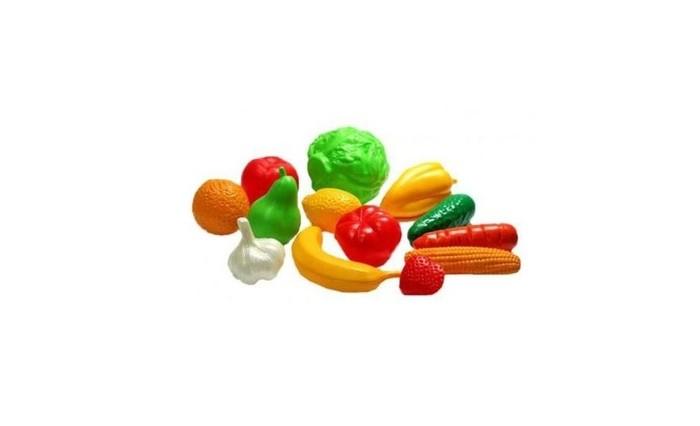 Ролевые игры Нордпласт Набор Фрукты овощи 13 предметов ролевые игры playgo игровой набор бытовой техники с тостером