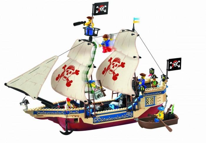 Конструктор Enlighten Brick Пиратский корабль 311 (487 элементов)