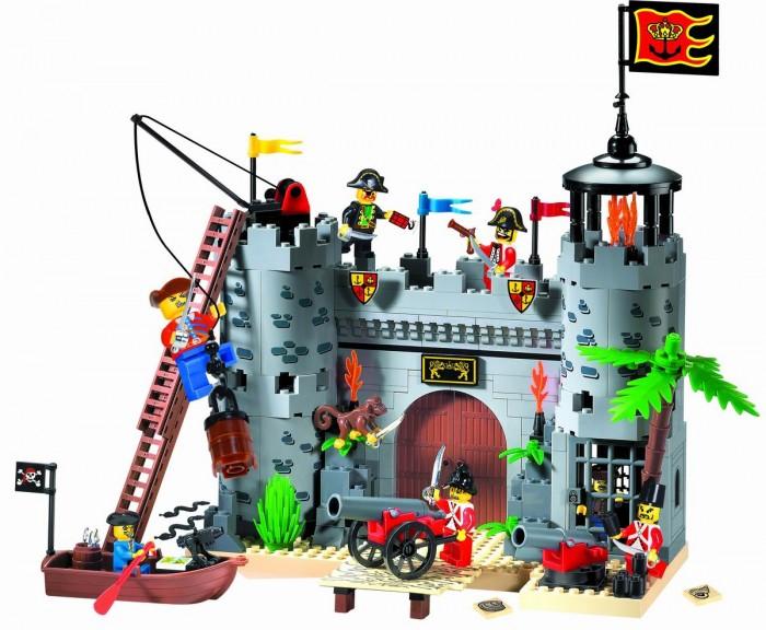 Конструкторы Enlighten Brick Пиратская крепость 310 (362 элемента) enlighten brick ракетный крейсер 821 843 элемента page 2