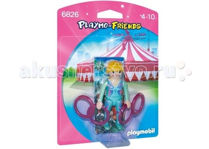 Конструкторы Playmobil Друзья: Акробатка фигурки игрушки prostotoys пупсень серия лунтик и его друзья
