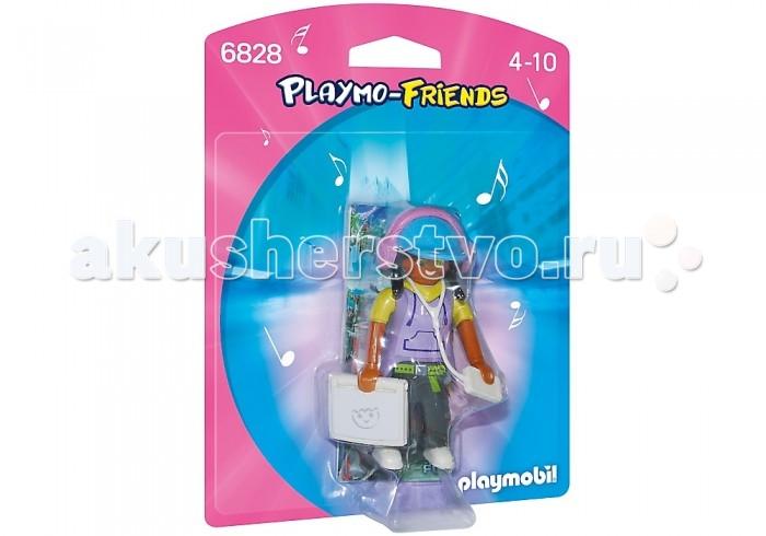 Конструкторы Playmobil Друзья: Девушка с гаджетами фигурки игрушки prostotoys пупсень серия лунтик и его друзья