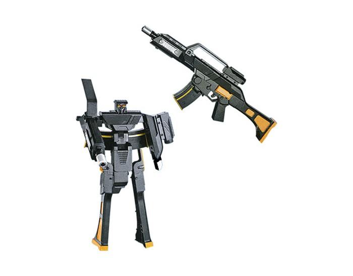 Игрушечное оружие Zhorya Автомат-трансформер Робот 1toy робот трансформер звездный защитник самолет