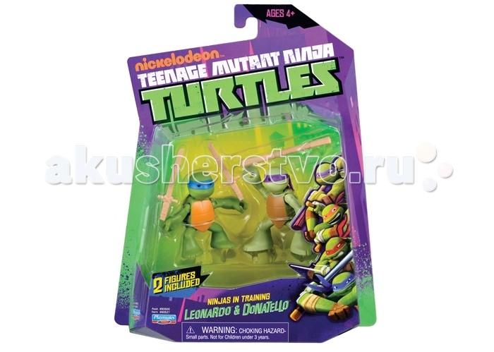 Игровые фигурки Turtles Фигурка Черепашки-ниндзя Лео и Дон юные мутанты подростки мутанты ниндзя черепашки черепашки во времени