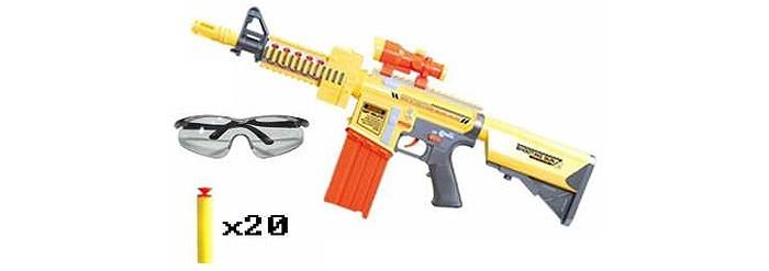 Игрушечное оружие Zhorya Игровой бластер с мягкими патронами