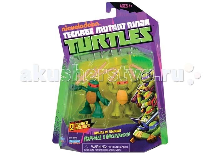 Игровые фигурки Turtles Фигурка Черепашки-ниндзя Майки и Раф юные мутанты