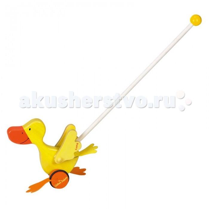 Каталка-игрушка Spiegelburg Утка Die Lieben Sieben 20827