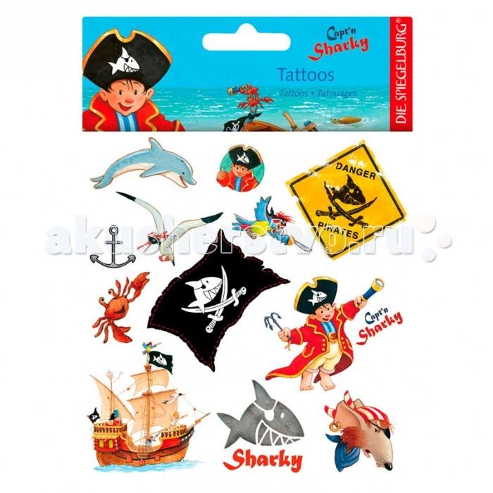 Аксессуары Spiegelburg Тату Captn Sharky 20393 аксессуары spiegelburg тату captn sharky 21265