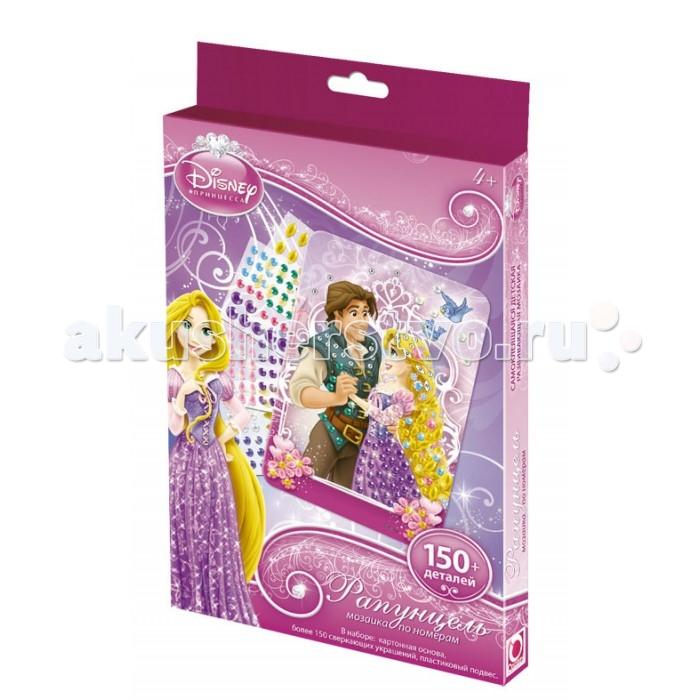 Мозаика Чудо-творчество Мозаика сингл Disney Princess Рапунцель наборы для поделок чудо творчество чудо творчество barbie мозаика сингл barbie