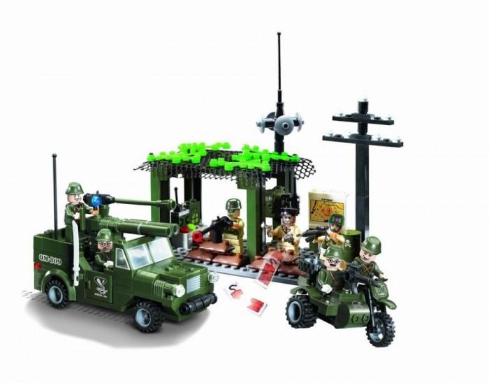 Конструкторы Enlighten Brick Вооружённые силы 809 (285 элементов) конструктор enlighten brick каток c1104 1104