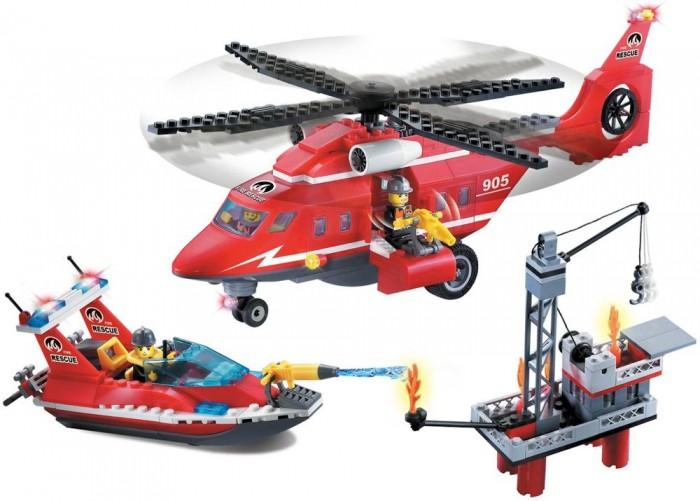 Конструктор Enlighten Brick Fire Rescue 905 (404 элемента)