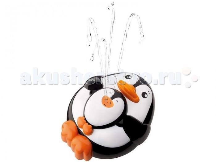 Игрушки для ванны Hap-p-Kid Игрушка для купания Брызгалка Пингвиненок фигурки игрушки hap p kid пингвиненок на катере