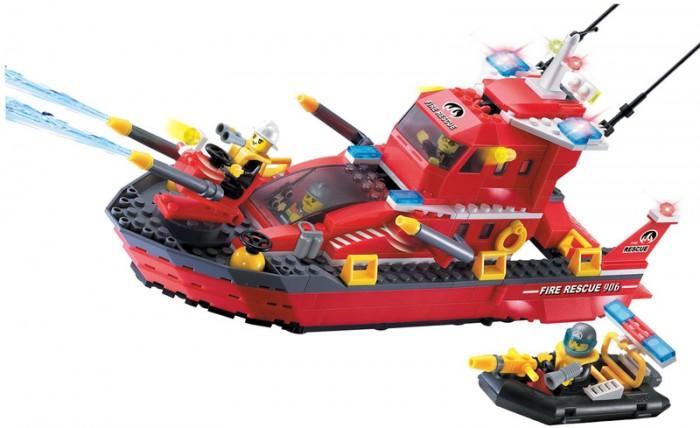 Конструктор Enlighten Brick Fire Rescue 906 (340 элементов)