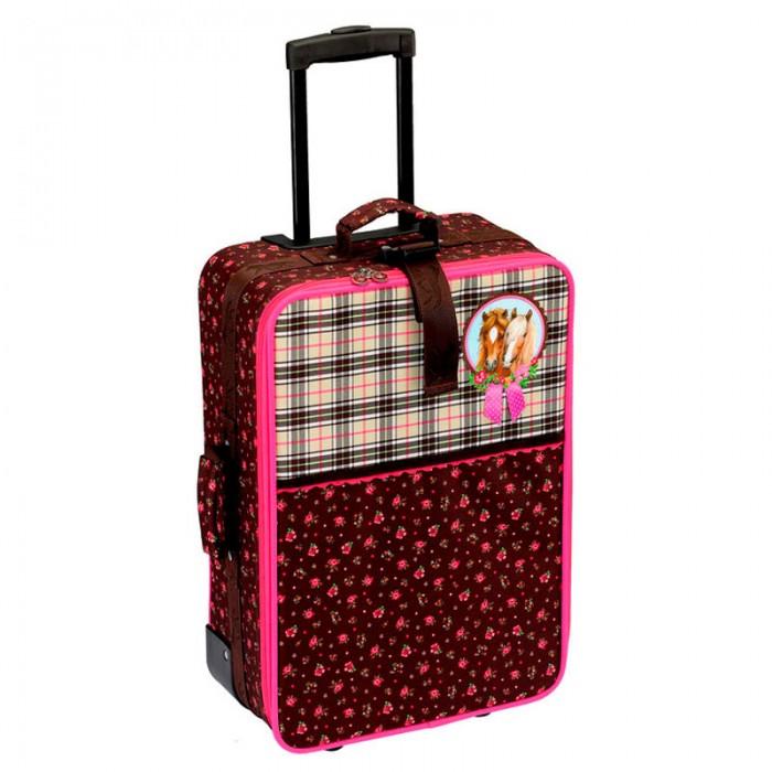 Детские чемоданы Spiegelburg Детский чемодан Pferdefreunde 30593 наборы для творчества spiegelburg набор для детского творчества pferdefreunde 12265