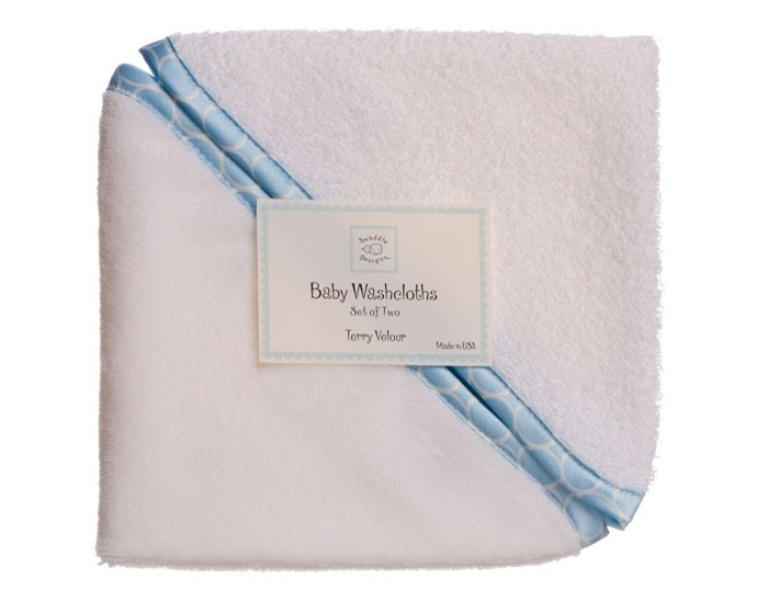 Мочалка SwaddleDesigns Washcloth set