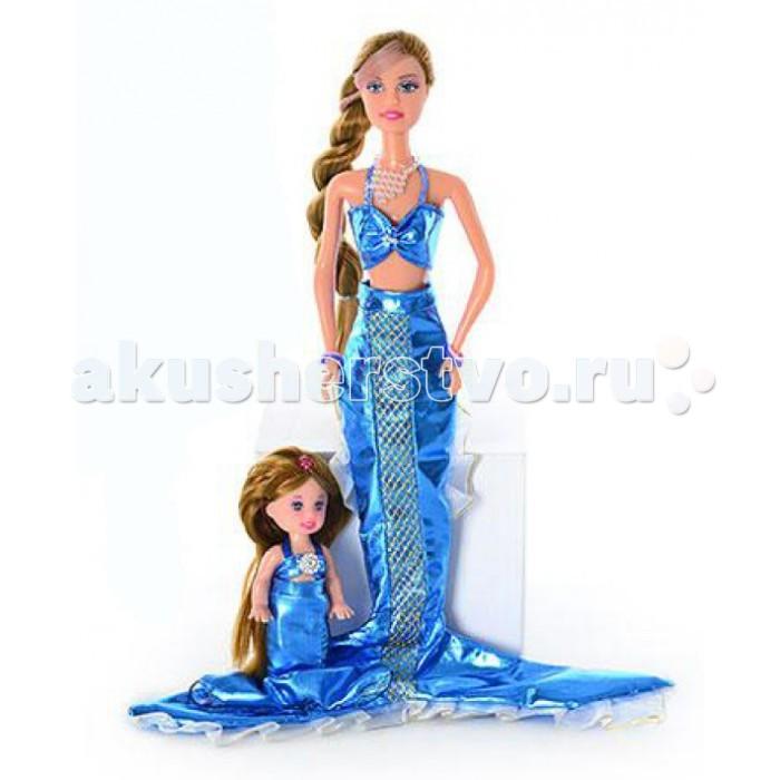 Куклы и одежда для кукол Defa Кукла Русалка с ребенком 20978 кукла defa lucy невеста 8341