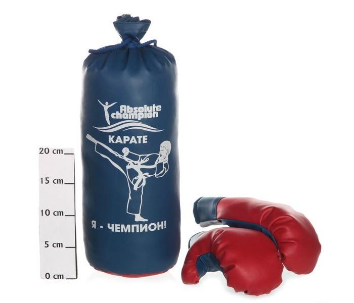 Спортивный инвентарь Absolute Champion Набор детский игровой Abch Классик Стандарт № 2 (перчатки, груша, упаковка)