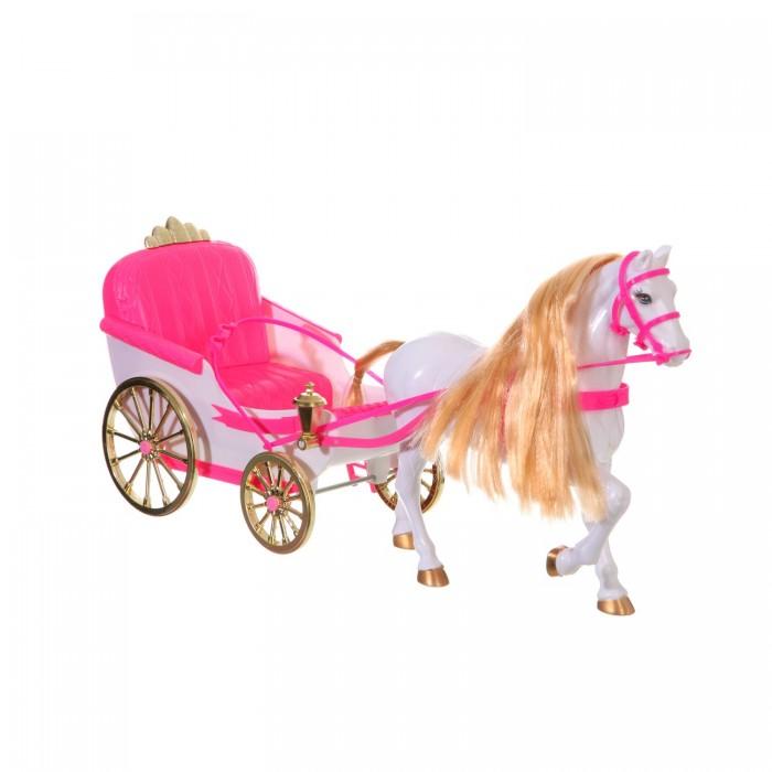 Куклы и одежда для кукол Глория Набор игровой Карета с лошадью для куклы 22088 куклы veld co карета кукла с лошадью