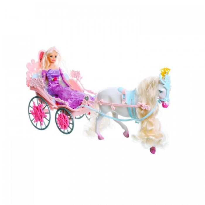Jinni Кукла Золушка в карете 83063