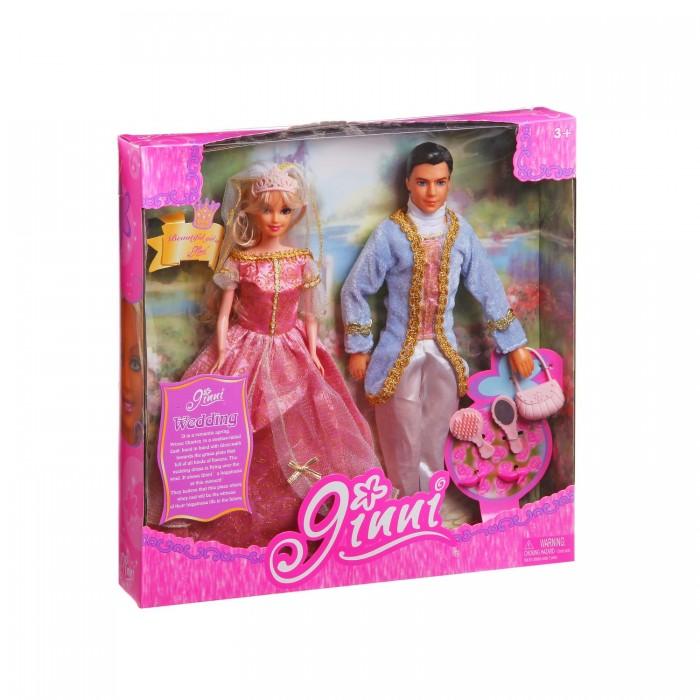 Куклы и одежда для кукол Jinni Кукла Золушка с принцем 83066 hasbro кукла золушка с проявляющимся принтом