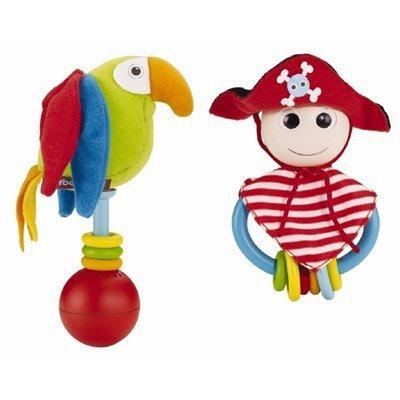 Погремушки Yookidoo Веселый пират игровой набор yookidoo пират и его попугай