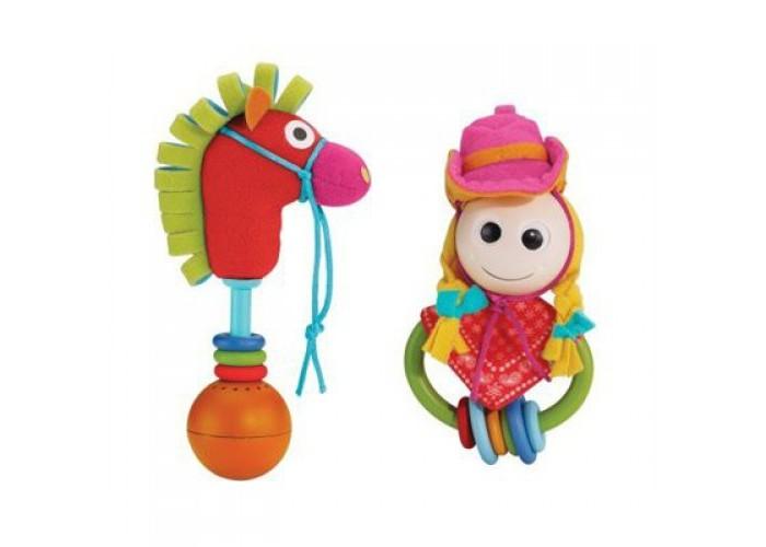 Погремушки Yookidoo Веселый кoвбой игровой набор yookidoo пират и его попугай