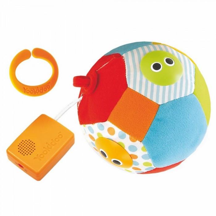 Мягкие игрушки Yookidoo Музыкальный мяч погремушки yookidoo петушок