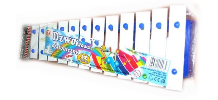 Музыкальные игрушки Marek Металлофон 12 тонов музыкальные игрушки