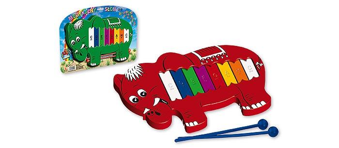 Музыкальные игрушки Marek Металлофон Слон order list for marek