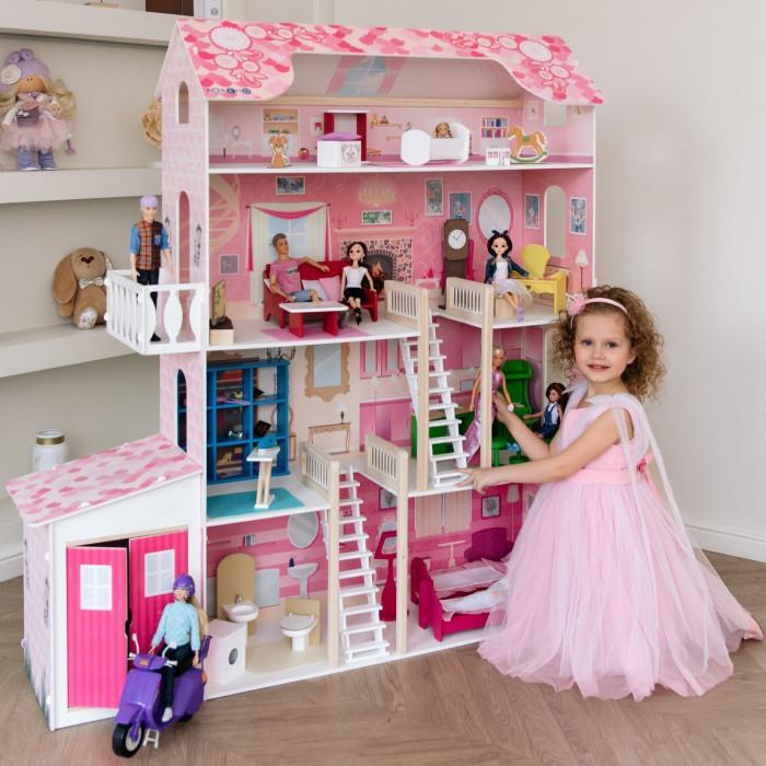 Купить Кукольные домики и мебель, Paremo Домик для Барби Нежность