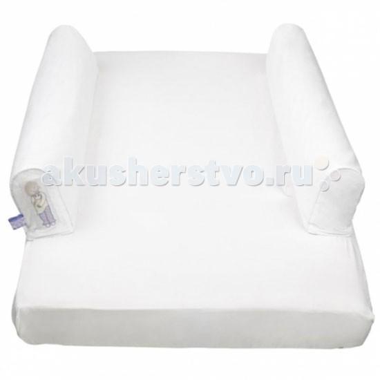 Dusky Moon Сменная простынь для кровати Dream Tubes 70х150Сменная простынь для кровати Dream Tubes 70х150Сменная простыня для кровати Dream Tubes оригинальная простыня на резинке с интегрированными чехлами на молнии для защитных валиков.   Особенности: Является идеальным решением для путешествий – простынка легкая и компактная, складывается до размера пляжного полотенца Помогает в преодолении сложного процесса перехода от сна в детской кроватке ко сну в одноместной кровати Одеяло не сползет на пол  Легко стирается Надежность и безопасность подтверждается Британским стандартом BS7972, а также Российским Сертификатом Качества и Декларацией о Соответствии   Размер: 70 х 150 см  Состав: хлопок<br>